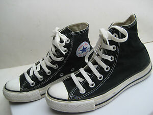 NAVY-CONVERSE-ALL-STAR-CHUCK-TAYLOR-HI-TOPS-MENS-Sz-3-FIT-CHILD-Wmn-Sz-5-RRP-90