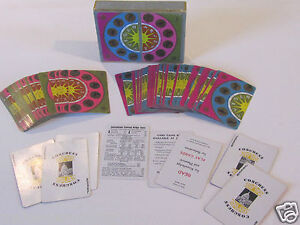 Vtg-ZODIAC-ASTROLOGY-DOUBLE-DECK-CONGRESS-PLAYING-CARDS-HARD-TO-FIND