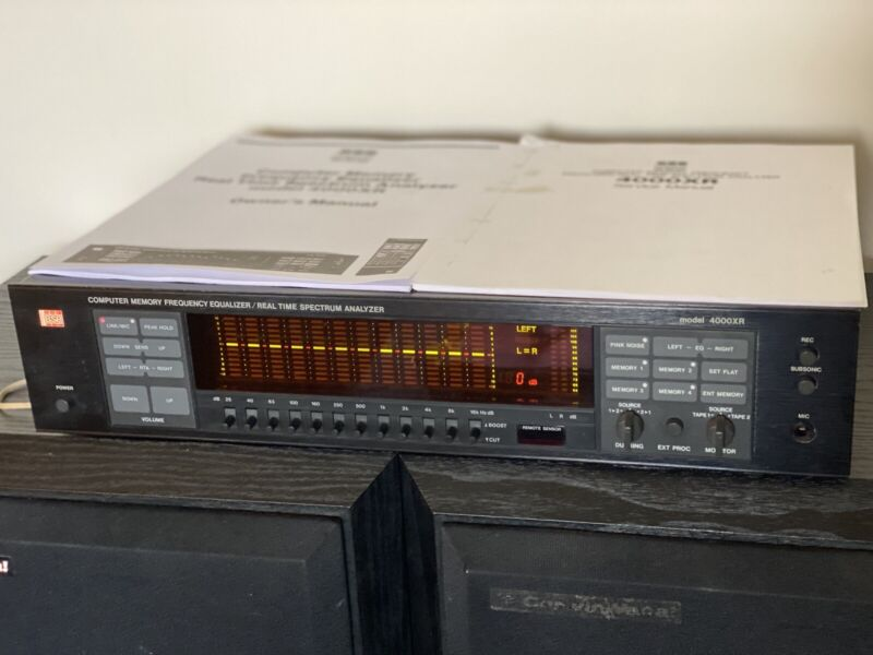 BSR 4000XR EQ Computer Memory Frequency Equalizer Spectrum Analyzer Tested