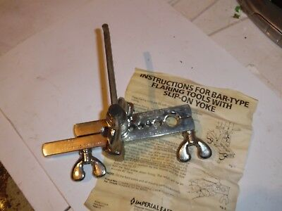 Flaring Tool Imperial Eastman Bar Type N.o.s. Gas Engine Motor Repair