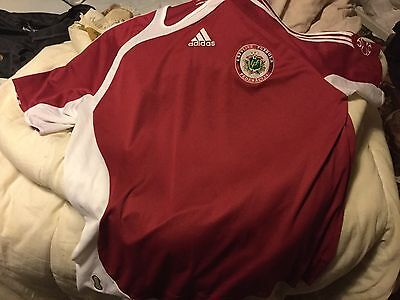 Latvia Home Football Shirt 2006 XL image