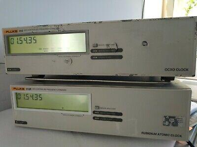 Fluke 910 Gps Controlled Frequency Standard Ocxo Clock