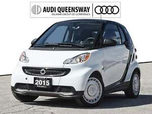 2015 Smart Fortwo Pure| No Accidents|Heated Seats|Touch Screen