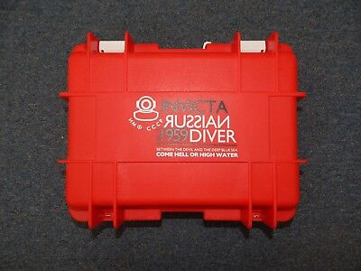 Invicta 8 Slot Dive Case Red Russian Diver 1959 R17899