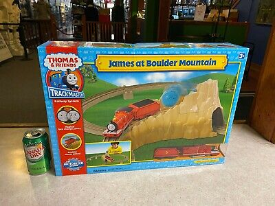 BIG Thomas & Friends NIP Trackmaster Railway Train System JAMES BOULDER MOUNTAIN