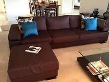 3 Piece Lounge - Chocolate Brown Fabric Cooktown Cook Area Preview