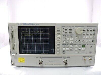 Agilent 8753et Transmissionreflection Network Analyzer 300khz To 3ghz
