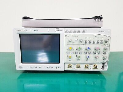 Agilent Mso8064a 600mhz Oscilloscope With 10073c Probes Opt 040 - Gpib