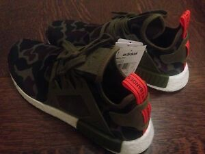 Adidas NMD XR1 Olive Cargo Camo DS size 10
