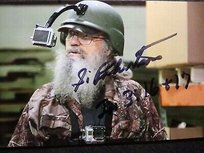 """SI ROBERTSON """"UNCLE SI""""  Hand Signed Autograph 4X6 photo - DUCK DYNASTY"""