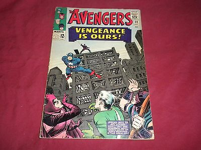 The Avengers #20 (Sep 1965, Marvel) silver age 4.0/4.5 comic!!!!