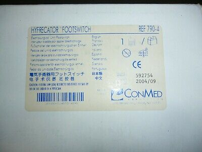 Conmed Hyfrecator Footswitch 790-4