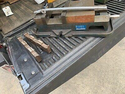 Kurt D80 8 Milling Machine Vise Wnon-std Handle Vise Jaws - Excellent Shape