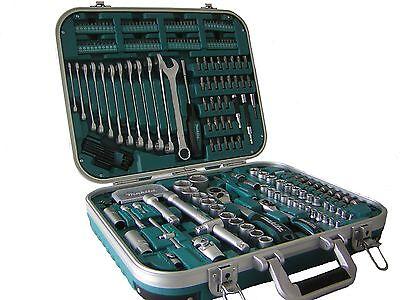 Makita Werkzeugset P-90532 227-teilig Bitsatz Steckschlüssel Ratschenkasten (Werkzeug-set Ratsche)
