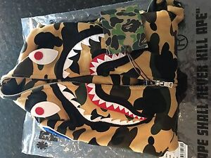 Brand new never worn BAPE hoodie and tshirts *Authentic*