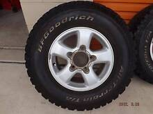 Toyota Land Cruiser Wagon factory 16 x 8 wheels and tyres Windang Wollongong Area Preview