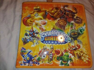 Skylanders Giants Blue Carry & Display 32 Storage Case with tags PS3 Xbox Wii  for sale  Shipping to India