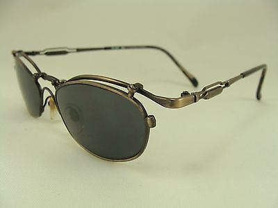 VINTAGE FUNKY STEAMPUNK ARTSY SUNGLASSES OPTICAL QUALITY FRAMES RX READY GK 605 (Artsy Sunglasses)