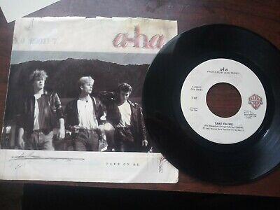 "a-ha-Take On Me 7"" Vinyl Single 1985"