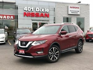 2018 Nissan Rogue SL AWD|FEB|NAVI|LEATHER|PANO ROOF|360 CAMERA
