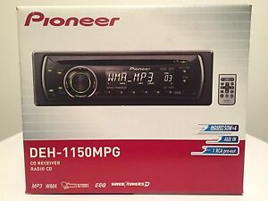 Pioneer Head Unit and Speakers Morley Bayswater Area Preview