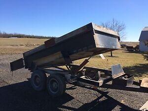 6' x 10' hydraulic dump trailer