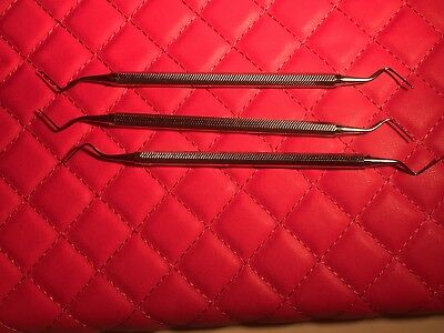 Used - Hu-friedy - Fh511 - File Scaler - Lot Of 3