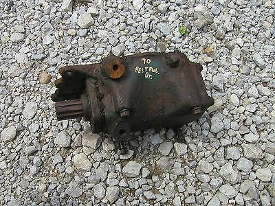 Oliver 70 Rowcrop Tractor Belt Pulley Drive Gear Box