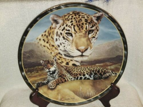 FIRST LIGHT by Charles Frace Soul of the Wild Bradford Collector Plate 1996