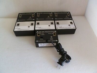 LOT OF 7 SKUTCH MIX T-21P & AS-4A TELEPHONE LINE SIMULATOR / AUDIO (Phone Line Simulator)