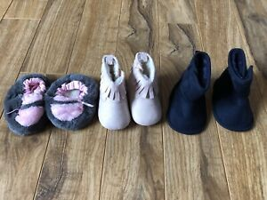 Size 1 Baby boots / slippers
