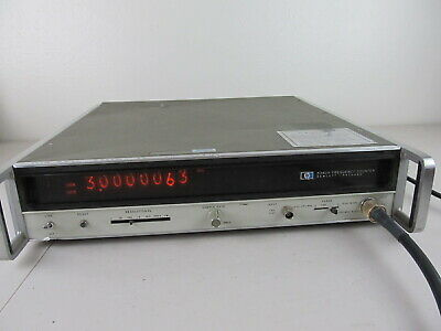 Agilent Hp 5340a Frequency Counter 10hz To 18ghz