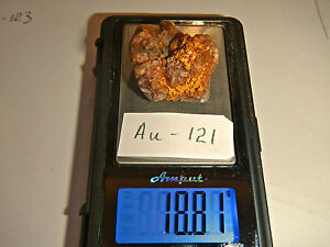 West Australian Gold Specimen 18.81g, ideal for jewelry, investors or collectors