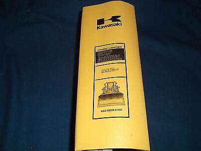 Kawasaki 80ziv-2 Wheel Loader Service Shop Repair Manual Book Sn 80c3-5501-up