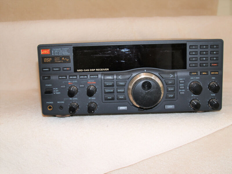 Japan Radio JRC NRD-545 Shortwave Radio AM SSB CW Receiver with DSP