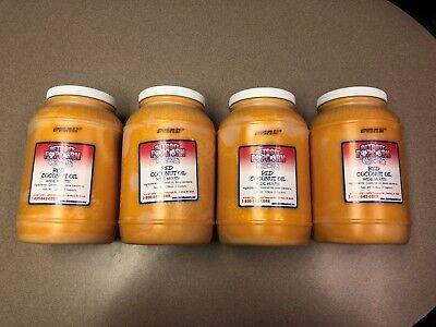 Red Coconut Popcorn Popping Oil 4 1 Gallon Bottles