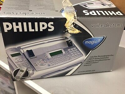 Fax Marca Philips Con Scatola E Istruzioni