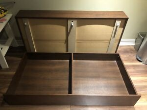Ikea Hemnes underbed storage, set of 2,like new