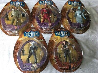 Toy Vault Farscape - Series 1 Figures - Complete Set of 5 -  NIB MOC NEW! LE