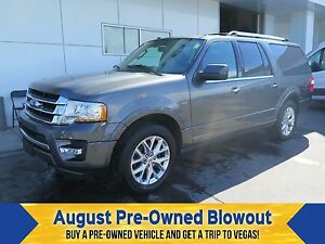 2015 Ford Expedition Max Limited Moonroof. Trailer Tow.