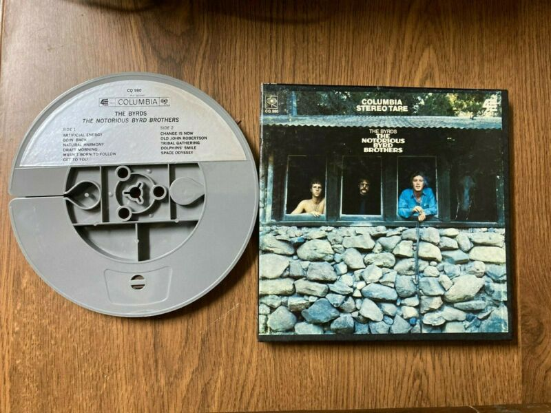 The Byrds Notorious Byrd Brothers 7 1/2 IPS reel stereo/mono