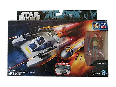 Star Wars Figure Vehicle Rebels Y-WING SCOUT BOMBER KANAN JARRUS Hasbro New