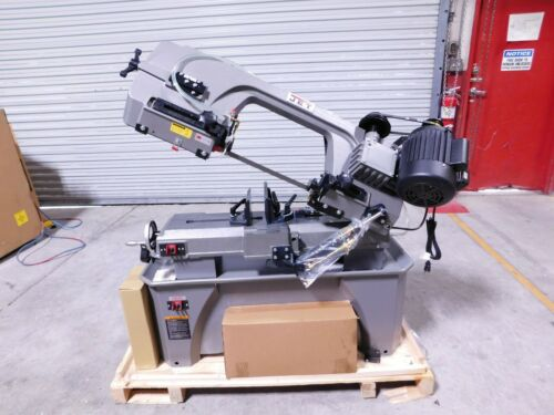 """Jet 7"""" x 12"""" Step Pulley Manual Deluxe Horizontal / Vertical Band Saw #414560"""
