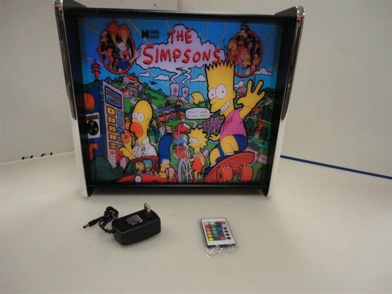 The Simpsons Data East Pinball Head LED Display light box