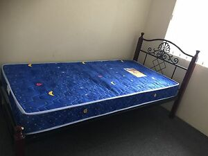 Single bed & mattress (Low price for quick sale) Marrickville Marrickville Area Preview
