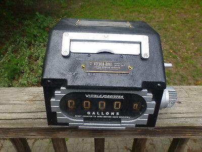 Vintage Veeder-root Master Meter Duplicator A151500 Visible Register Gas Oil