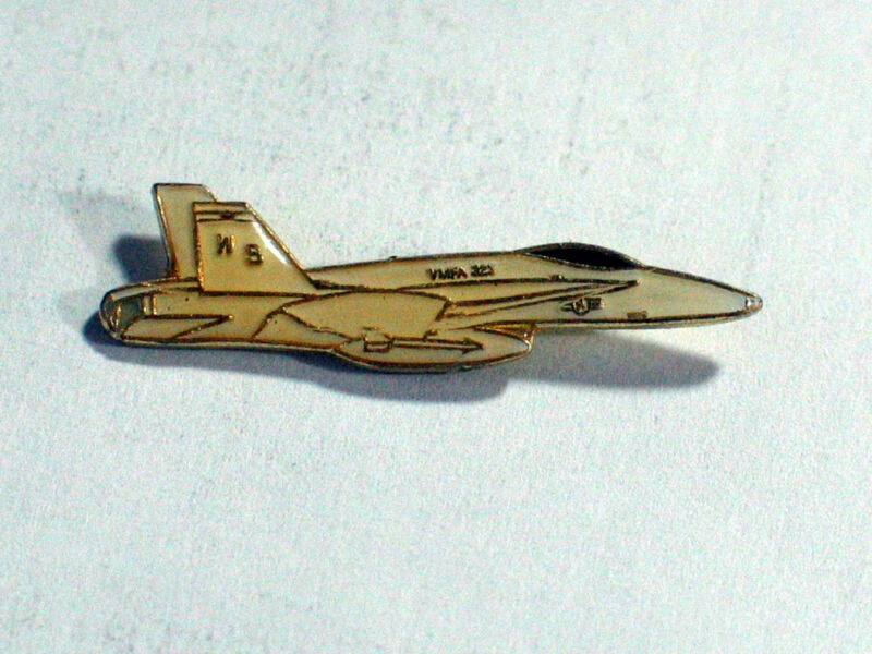 F-18 Hornet VMFA-323  Aircraft Military Airplane Lapel  Pin
