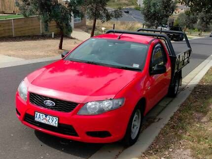 Falcon Ute - 2009 Cab Chassis with steel tray
