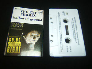 VIOLENT-FEMMES-HALLOWED-GROUND-2ND-PRESS-AUSTRALIAN-CASSETTE-TAPE