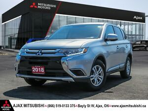 2018 Mitsubishi Outlander ES AWC / Heated Seats / Bluetooth